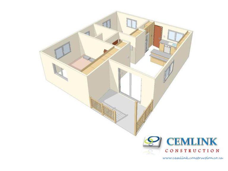 2 bedroom Nutec House plan